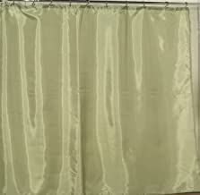 Carnation Home Fashions Anti Mildew Resistant Vinyl Shower Curtain Liner, 72-Inch by 72-Inch, Sage