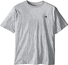 تي شيرت رجالي من Champion برقبة دائرية وطويل -  Big & Tall Crew-neck Jersey T-shirt 2X / Tall