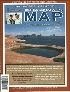Lake Powell and Its 96 Canyons Boating and Exploring Map and Guide to the Glen Canyon National Recreation Area Paper/Non-Laminated