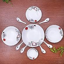 33 Pcs Opal Ware Dinner Set 1X1