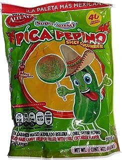 Alteno Super Pepino (Cucumber) with Chili Lollipop (40Piece)
