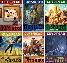 6 Books: Guys Read Collection - Guys Read: Funny Busines, Guys Read: Sports Pages, Guys Read: Other Worlds, Guys Read: True Stories, Guys Read:Terrifying Tales