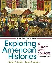 Best exploring american histories volume 2 ebook Reviews