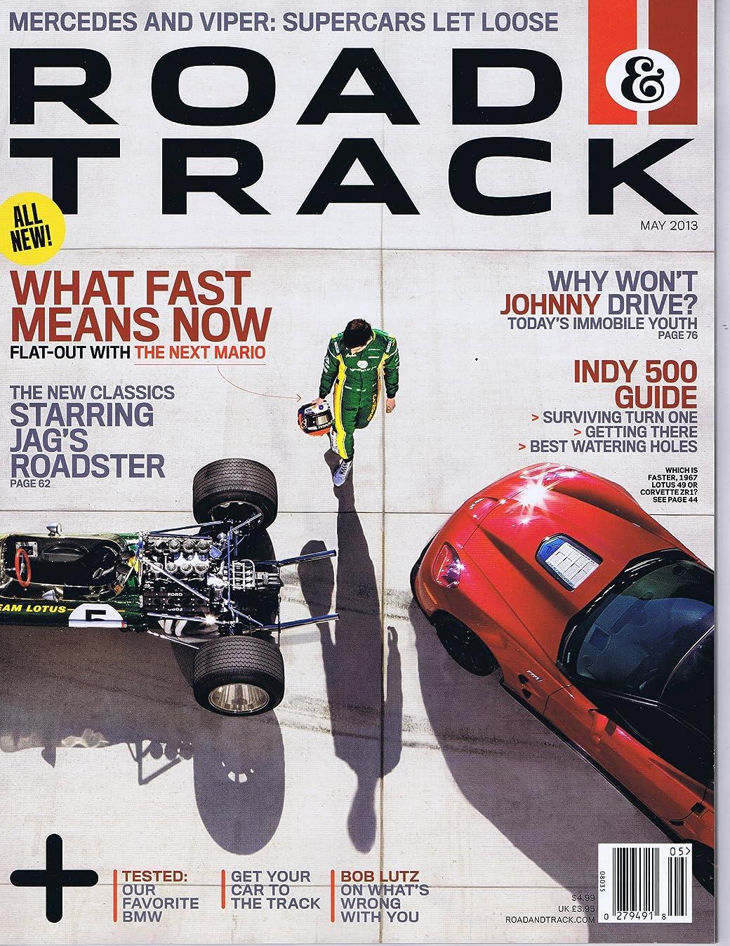 不運逸脱ピッチRoad & Track [US] May 2013 (単号)