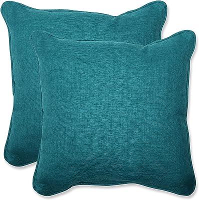 Thro by Marlo Lorenz TH015177001E 16 Kari Keller Round Faux Mongolian Pillow Gray
