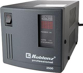 Koblenz ER-2550 - Regulador de voltaje automático, 2500 VA, 6 contactos