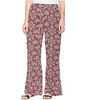 Pink Rose Boho Pants