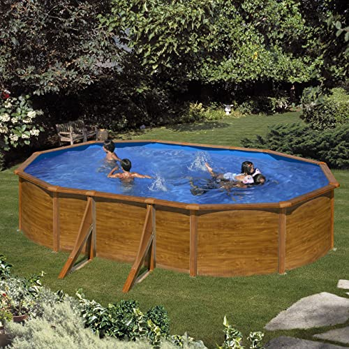 Piscina desmontable Acero: Amazon.es