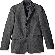 U.S. Polo Assn. Boys' Cotton Herringbone Sport Coat