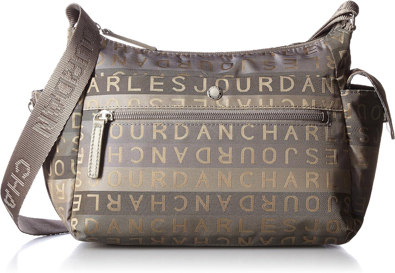 CHARLES JOURDAN (Charles Jourdan) 51-7269, Herren-Geldbörse Schwarz Schwarz B016B1LZMS