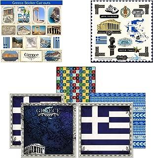 Best greece scrapbook stickers Reviews