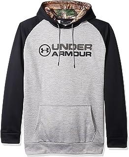 Under Armor Men's Storm Armour Fleece Stacked Hoodie — Tall