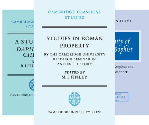 Cambridge Classical Studies (50 Book Series)