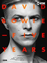 david bowie five years documentary dvd