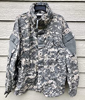 Genuine Us Army Ecwcs Acu Gen III Level 5 Soft Shell Cold Weather Jacket - Large Regular.