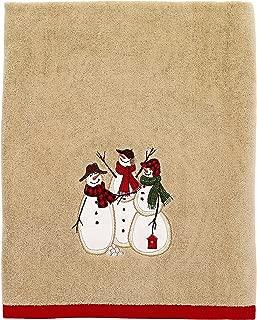Avanti Snowmen Gathering Bath Towel