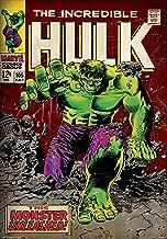 Marvel 'Hulk - Monster' Officially Licensed Poster (30.48 cm x 45.72 cm)
