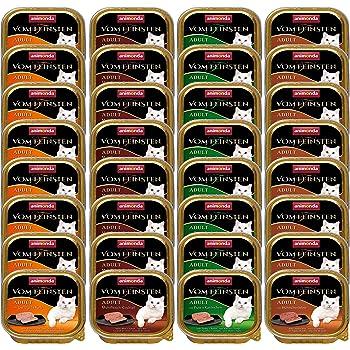 animonda Vom Feinsten Adult Katzenfutter, Nassfutter für ausgewachsene kastrierte Katzen, verschiedene Sorten, 32 x 100 g
