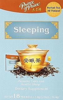 PRINCE OF PEACE Sleeping Tea 18 Bag, 0.02 Pound