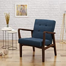 Christopher Knight Home Gunther Royal Blue Fabric Club Chair