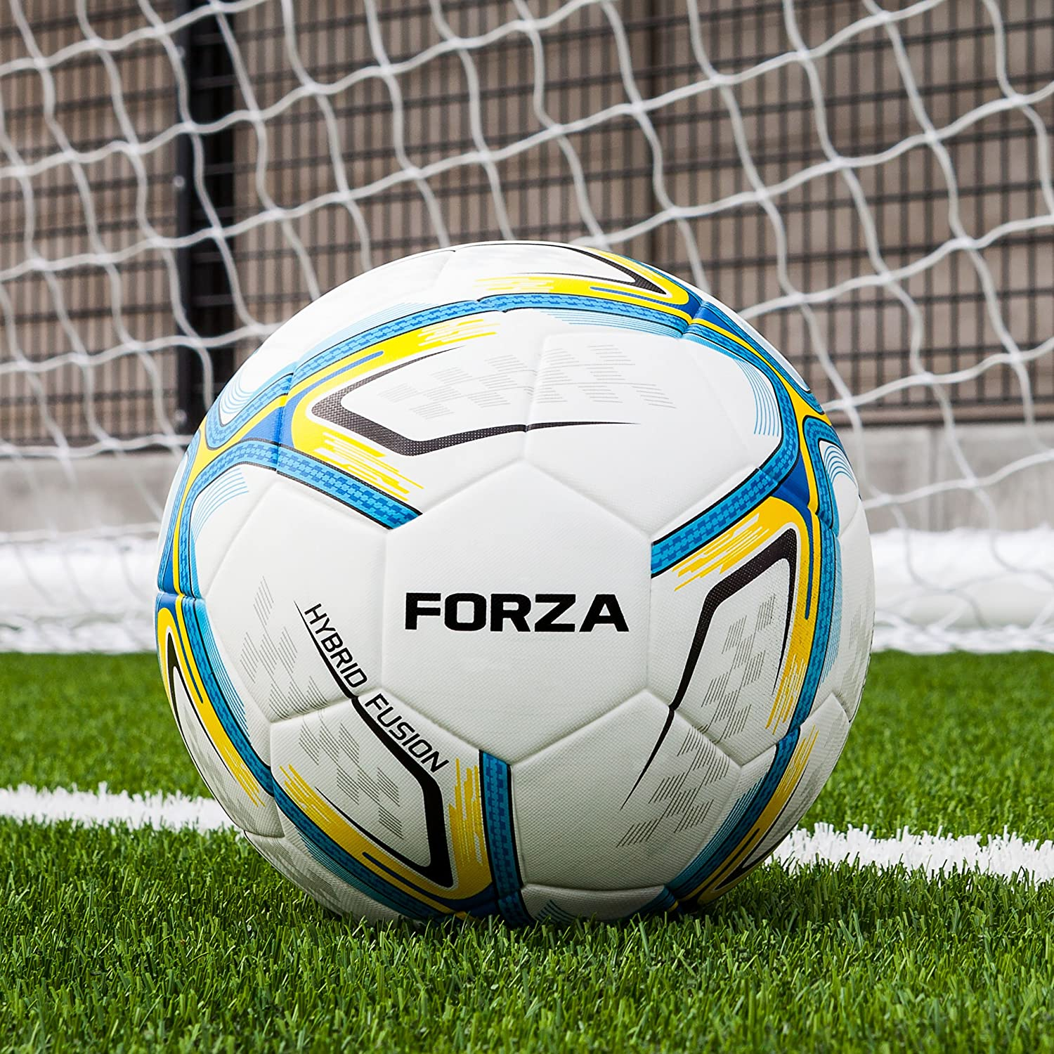 FORZA Pro Training Fusion Soccer Ball   Premium Training Ball for Professional Soccer Clubs   Artificial Surface Training Soccer Balls   Choose Your Size [Net World Sports]