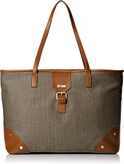 Hartmann Herringbone Luxe Softside Shoulder Bag, Terracotta