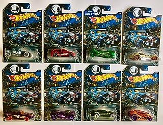 Hot Wheels Halloween 2016 Exclusive Complete Set of 8 Cars