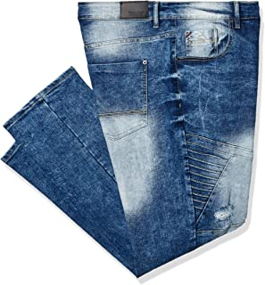 Southpole Men's Big and Tall 9180 Signiture Skinny Fit Fashion Denim Pants