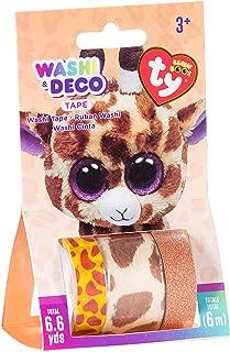 Darice TY Beanie Boo Safari Giraffe Washi Tape