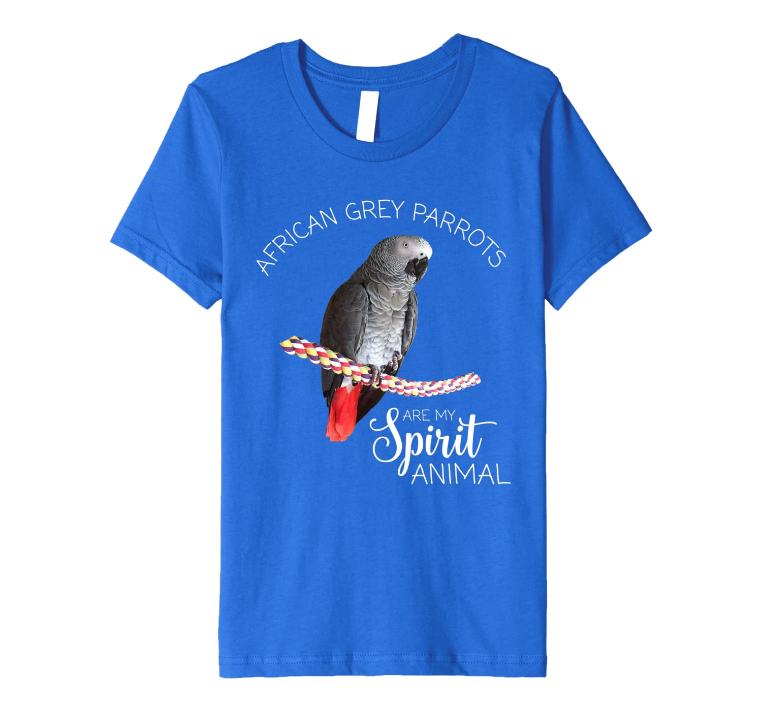 African Grey Parrots are my Spirit Animal Premium T-Shirt Youth