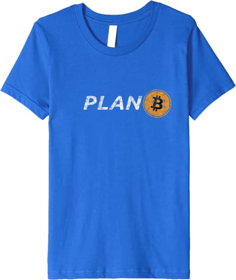symbole libert/é Sweatshirt Bitcoin plan B logo Hodl lune crypto