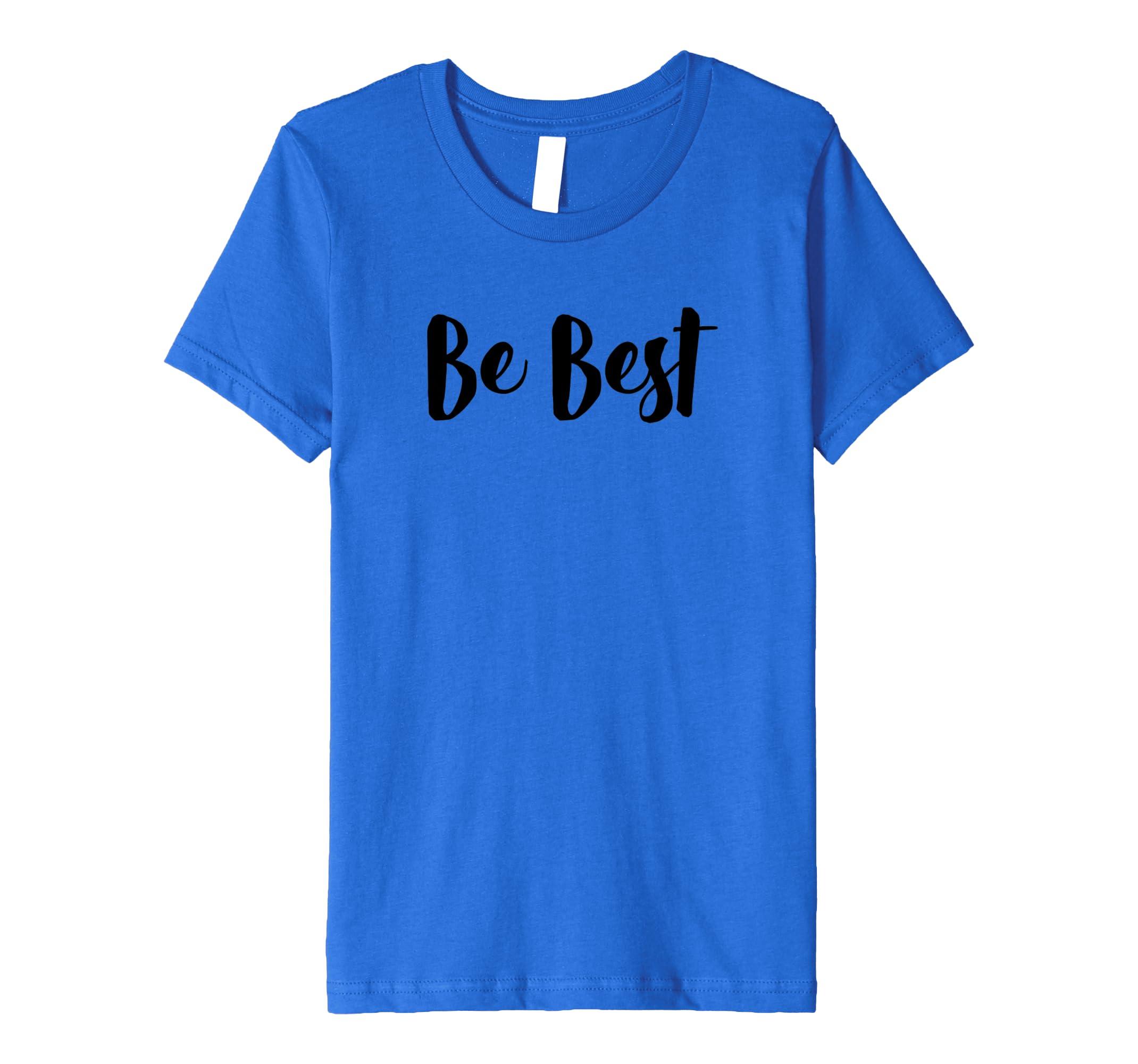 b0e120ee9 Amazon.com: Melania Trump Be Best TShirt - Premium: Clothing