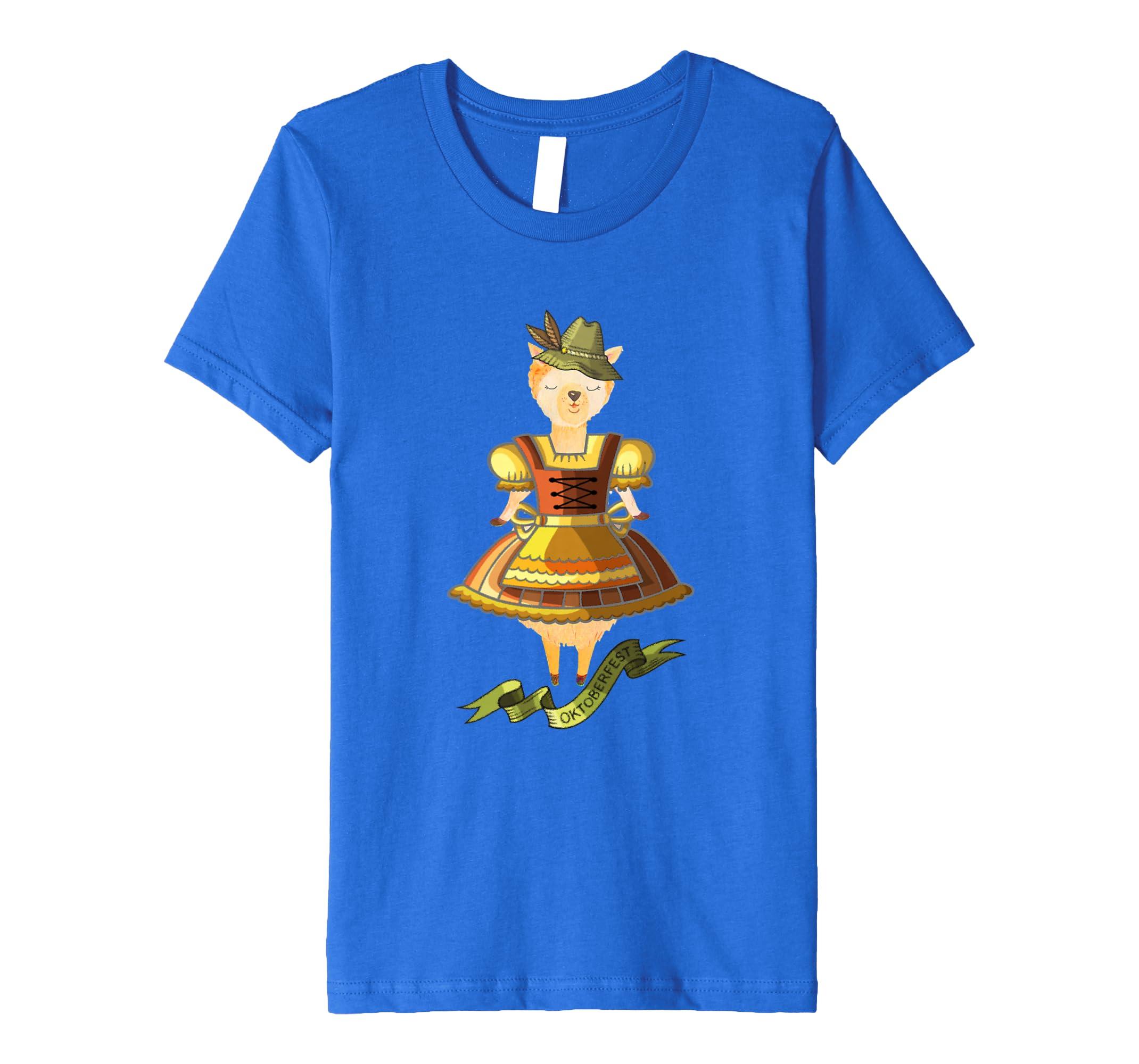 Oktoberfest Dirndl Llama München Wiesn Witzige Fun T Shirts Amazon