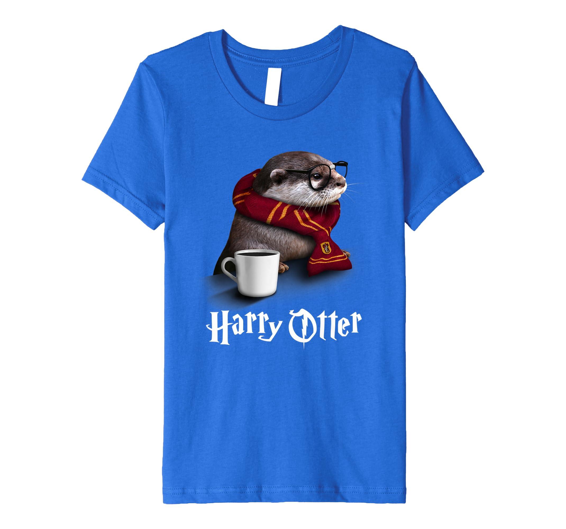 Funny Otter T-Shirt – Harry Otter Shirt für Otter Lover: Amazon.de ...