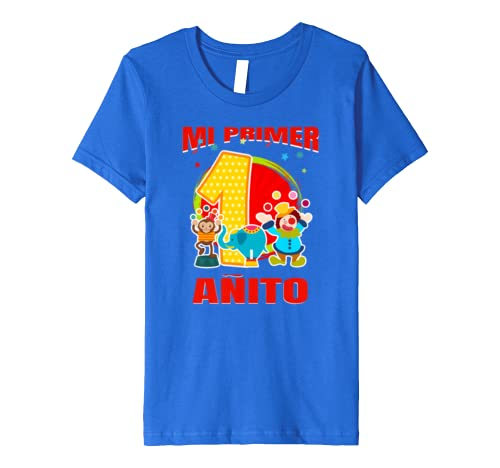 Amazon.com: Camisetas para fiesta de cumpleanos Nro 1 - Mi Primer anito: Clothing