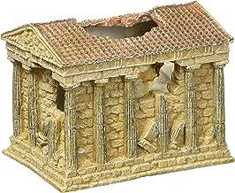Hydor Deco Ornament Kit, Greek Temple, Multi-Color LED