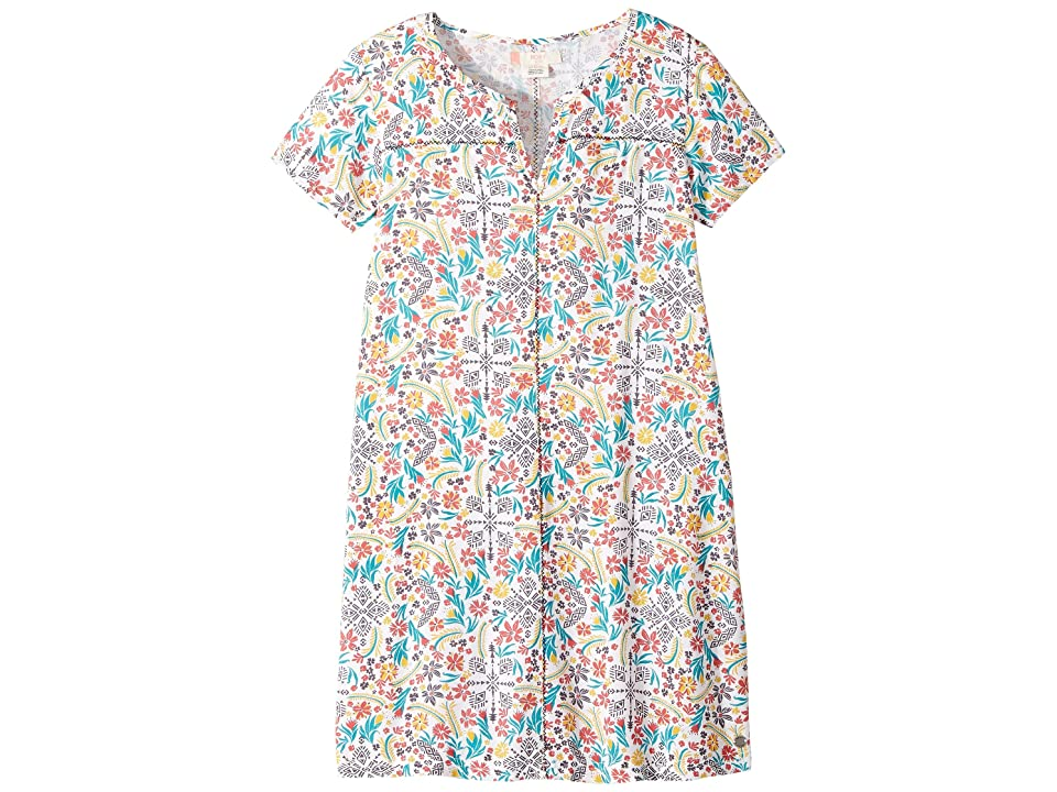 Roxy Kids Exclusive Protection Printed Dress (Big Kids) (Marshmallow Flower Power) Girl