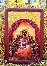 Coptic Icon Jesus Last Supper (6.69