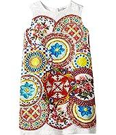 Dolce & Gabbana Kids - Mambo Brocade Dress (Toddler/Little Kids)