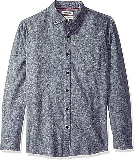 Goodthreads Men's Standard-Fit Long-Sleeve Brushed Heather Shirt