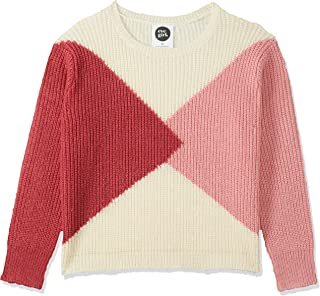 Eve Girl (8-16) Kids Ivy Crew, Cream/Pink & Red