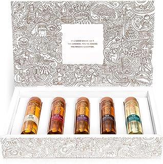 Tastillery Whisky Tasting ProbiersetWhisky Weltreise in Geschenkbox 5 x 50ml - bekannt ausDie Höhle der Löwen | Probier Set | Whiskey Set | Whisky Set |