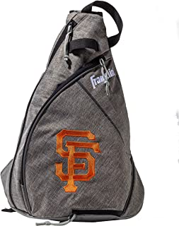 Franklin Sports MLB Team Licensed Crossbody Slingbak Baseball Shoulder Bag for Men & Women