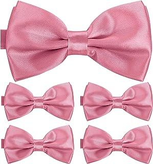BomGuard Fliege für Herren 5er Set I Männer Fliege für Hochzeit, Party oder edele Anlässe I Trendy Bow Tie I
