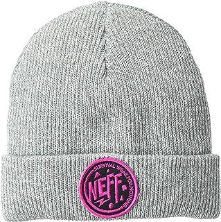 NEFF أغطية الرأس الشتوية للرجال و قبعات فيزور ، رمادي هيذر ، مقاس واحد