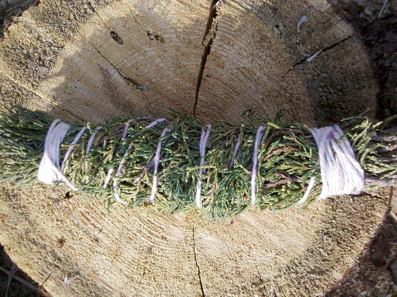 重々しい分窒素Cedar smudge stick 7?
