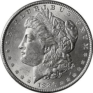1886 P Morgan Silver Dollar $1 Brilliant Uncirculated