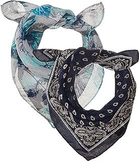 floral paisley bandana