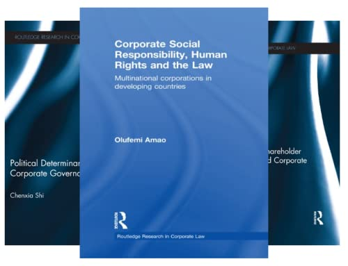 Routledge Research in Corporate Law (29 Book Series)