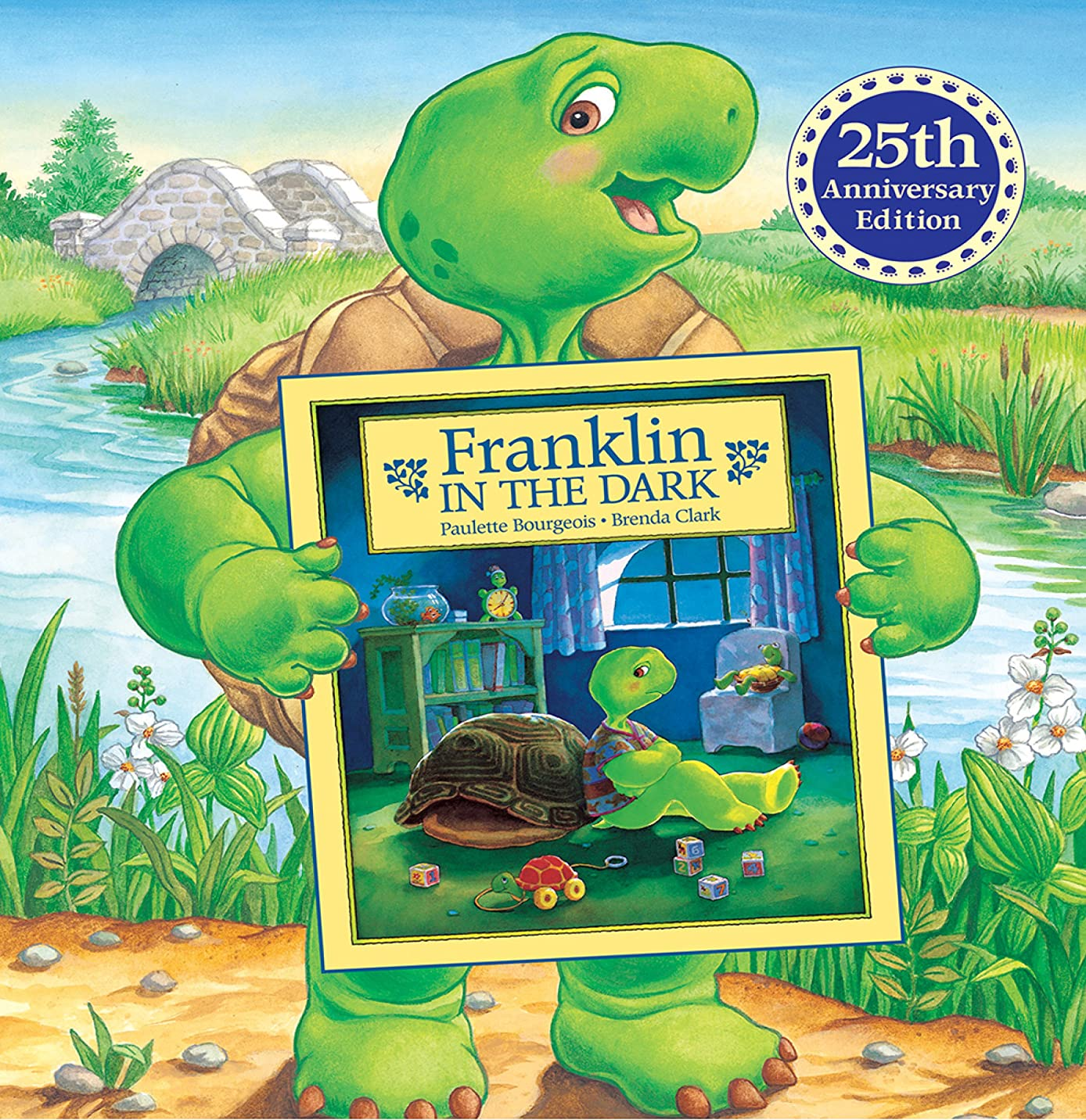 とても苦しめる明快Franklin in the Dark (25th Anniversary Edition) (Classic Franklin Stories Book 1) (English Edition)